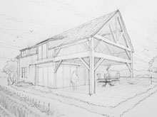 gers-house-pencil-sketch