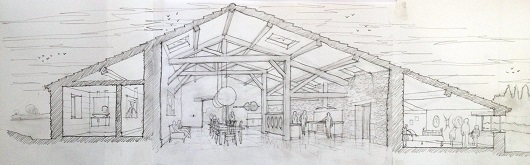barn conversion sketch - copie