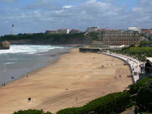 the-htel-du-palais-looks-out-over-the-main-beach-in-biarritz