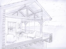 neils-clients-are-pleased-with-his-pencil-drawing-of-their-proposed-new-house
