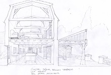 beaumont kitchen sketch - copie
